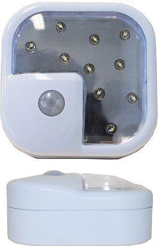 SE FL8403-10-2 Wireless LED Motion Sensor Light, 2  Reviews   - http://ddpreview.com/se-fl8403-10-2-wireless-led-motion-sensor-light-2-reviews/
