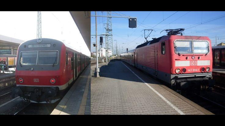 S-Bahn Nürnberg - Mitfahrt in BR 143 und X-Wagen 🚈