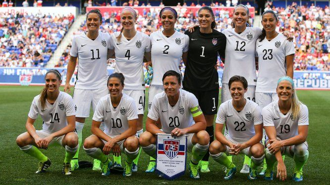 10 Reasons Why We Wish We Were Part of the U.S. Women's Soccer Team