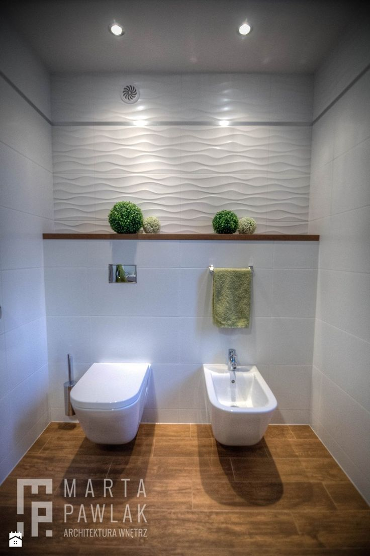 Dom Brenna - realizacja - Mała łazienka - zdjęcie od MARTA PAWLAK ARCHITEKTURA WNĘTRZ