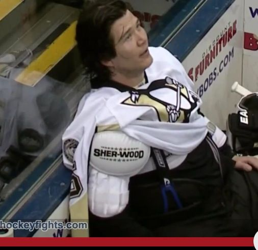 Arron Asham. The NHL is not the same without him :(