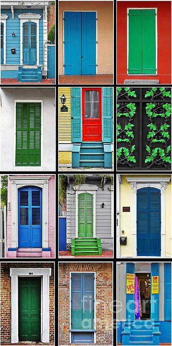New Orleans Doors Photograph by Christine Till - Fine Art Prints and Posters for Sale at http://pixels.com/featured/new-orleans-doors-christine-till.html