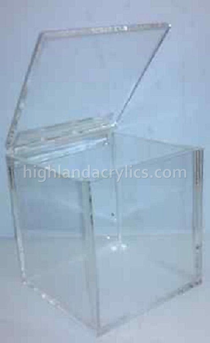 Acrylic Display Box by HighlandAcrylics on Etsy https://www.etsy.com/listing/209979810/acrylic-display-box