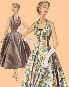 1954 Evening Dress