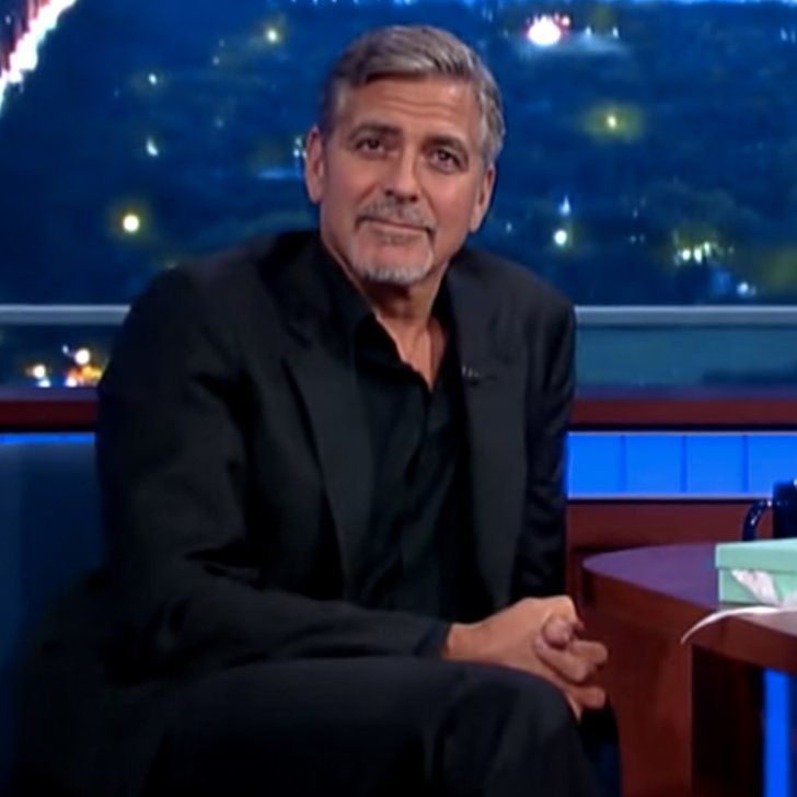"""You'll Laugh at How George Clooney Responds to Being Amal's """"Arm Candy"""""""