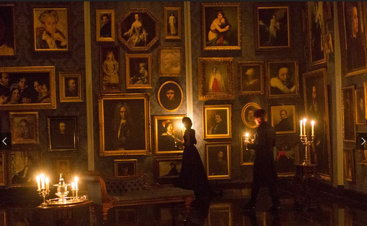 Paintings In Dorian Gray S Ballroom