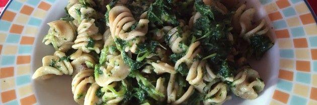 Fusilli con broccoletti e patè di olive | VeroVegan