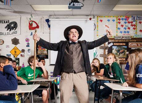Confessions of a 7th Grade Texas History Teacher (article from Sept 2012 Texas Monthly)