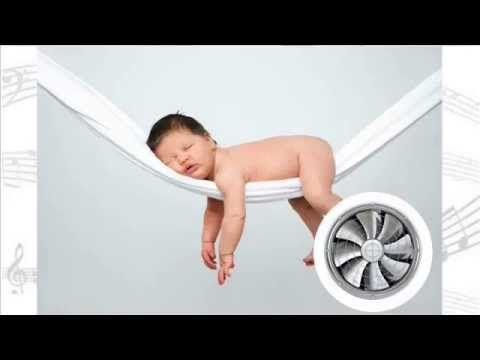 Bílý šum - zvuk k uspávání dětí