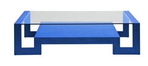 cobalt blue coffee table