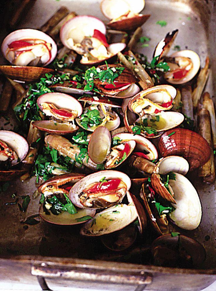 beautiful smoky barbecued shellfish   Jamie Oliver   Food   Jamie Oliver (UK)
