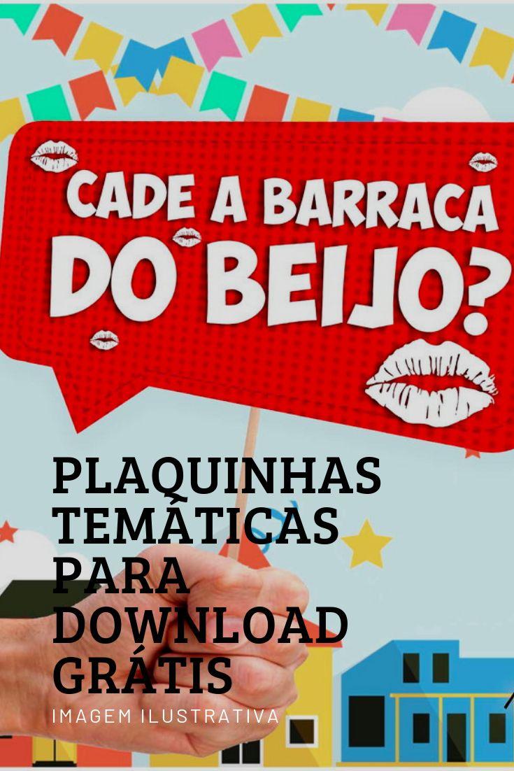Diys De Decoracao Para Festa Junina Plaquinhas Para Download