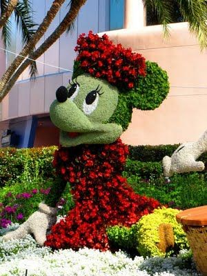 Epcot International Flower Garden Festival Florida Photos