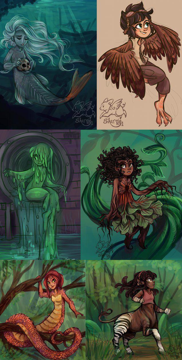 Criaturas magicas (Percy Jackson)