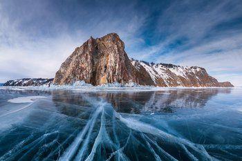 Lago Baikal. Rússia