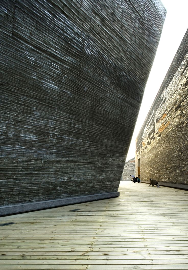 Wang Shu of Amateur Architecture Studio | 'Ningbo History Museum' | 2008 | Ningbo, China | http://www.chinese-architects.com/en/amateur