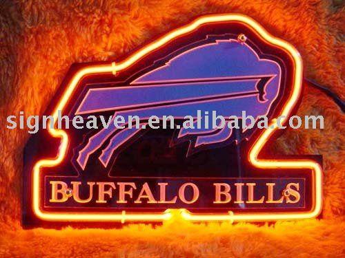 NFL BUFFALO BILLS Football Neon Light $10~$20