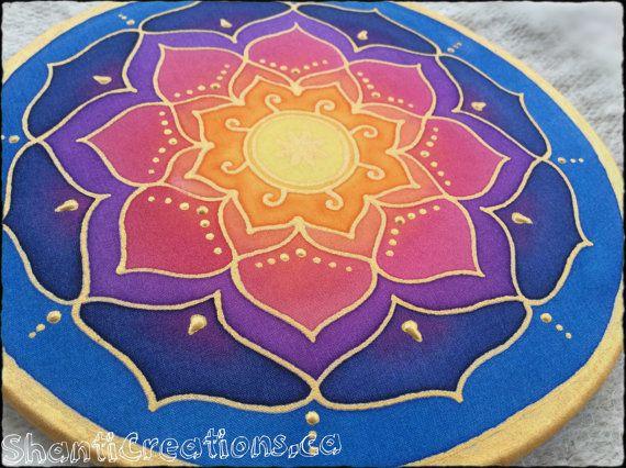 32 best peinture sur soie images on pinterest coloring books coloring sheets and print - Peinture sur galet mandala ...