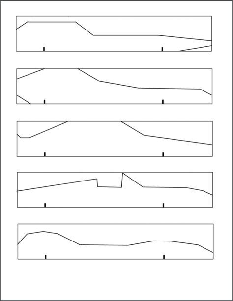 Basic Pinewood Derby Car Building Template