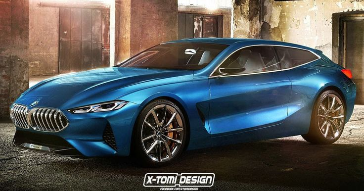 BMW's Concept 8 Suits Up As Shooting Brake, Gran Coupe And Pickup #BMW #BMW_Concepts