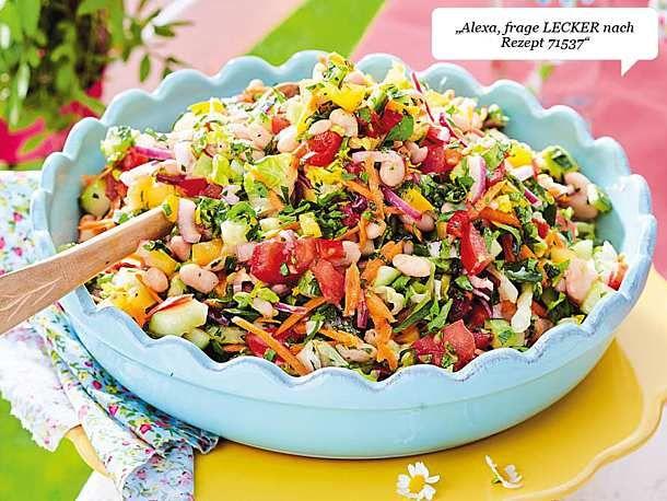 Unser beliebtes Rezept für gehackten Salat nach mediterraner Art und über 55 ….   – Grillen