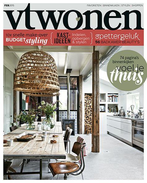 #vtwonen #cover january 2015 #magazine #home #interior
