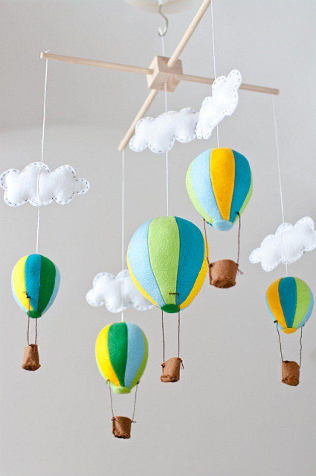 Karuzela nad łóżeczko - baloniki - WZÓR - Kram-Iki - Karuzele dla niemowląt