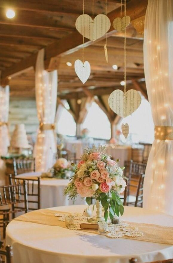 Inspirações de decoração para um casamento rústico
