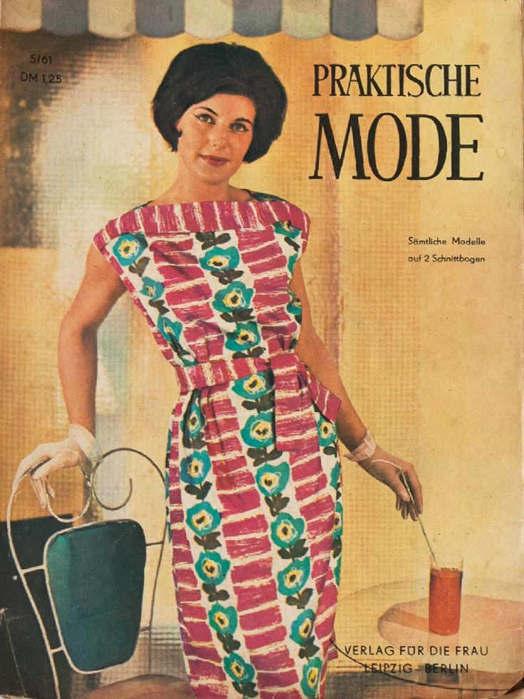 Praktische Mode Mai 1961  A vintage pattern magazine from my collection. Full scan.