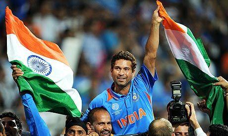 Sachin Tendulkar - The greatest Cricketer for all time.