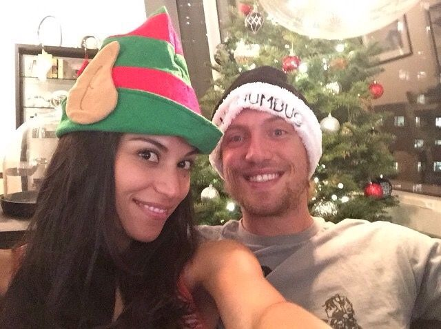 Hunter Pence and his girlfriend
