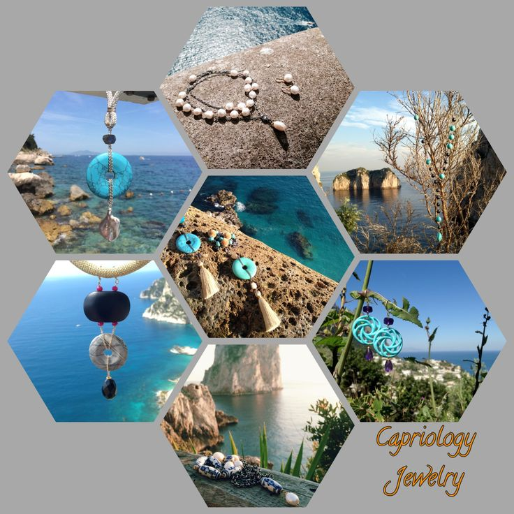It is all a matter of beauty enhancing beauty. Created by Capriology Jewelry on the beautiful island of Capri, Italy.
