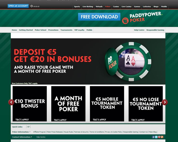 #PokerReview - Paddy Power Poker