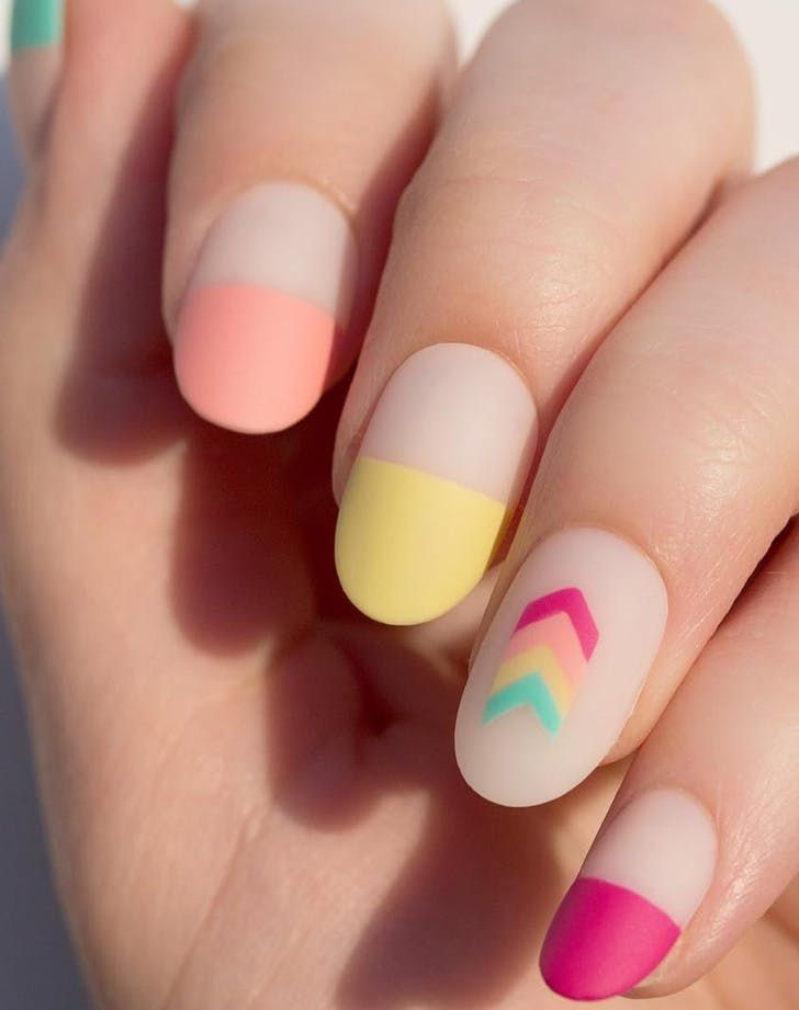 Matte Nails: The Manicure That Works on Literally Everyone #blinkbeauty #nailart…