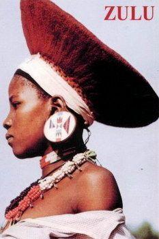 Zulu Hairstyle Hats 06 Hair N Beauty Pinterest