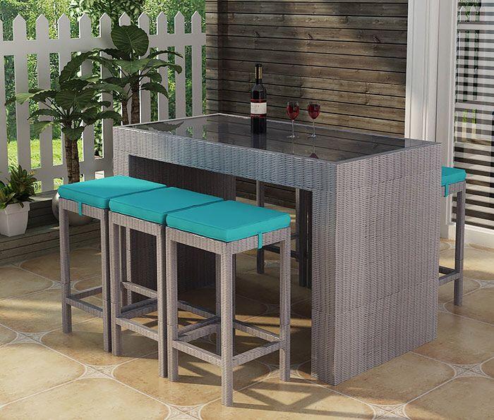 10 best poly rattan dining set outdoor furniture wicker furniture images on pinterest. Black Bedroom Furniture Sets. Home Design Ideas