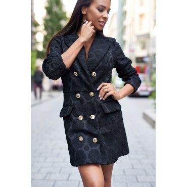 Black Blaser Dress