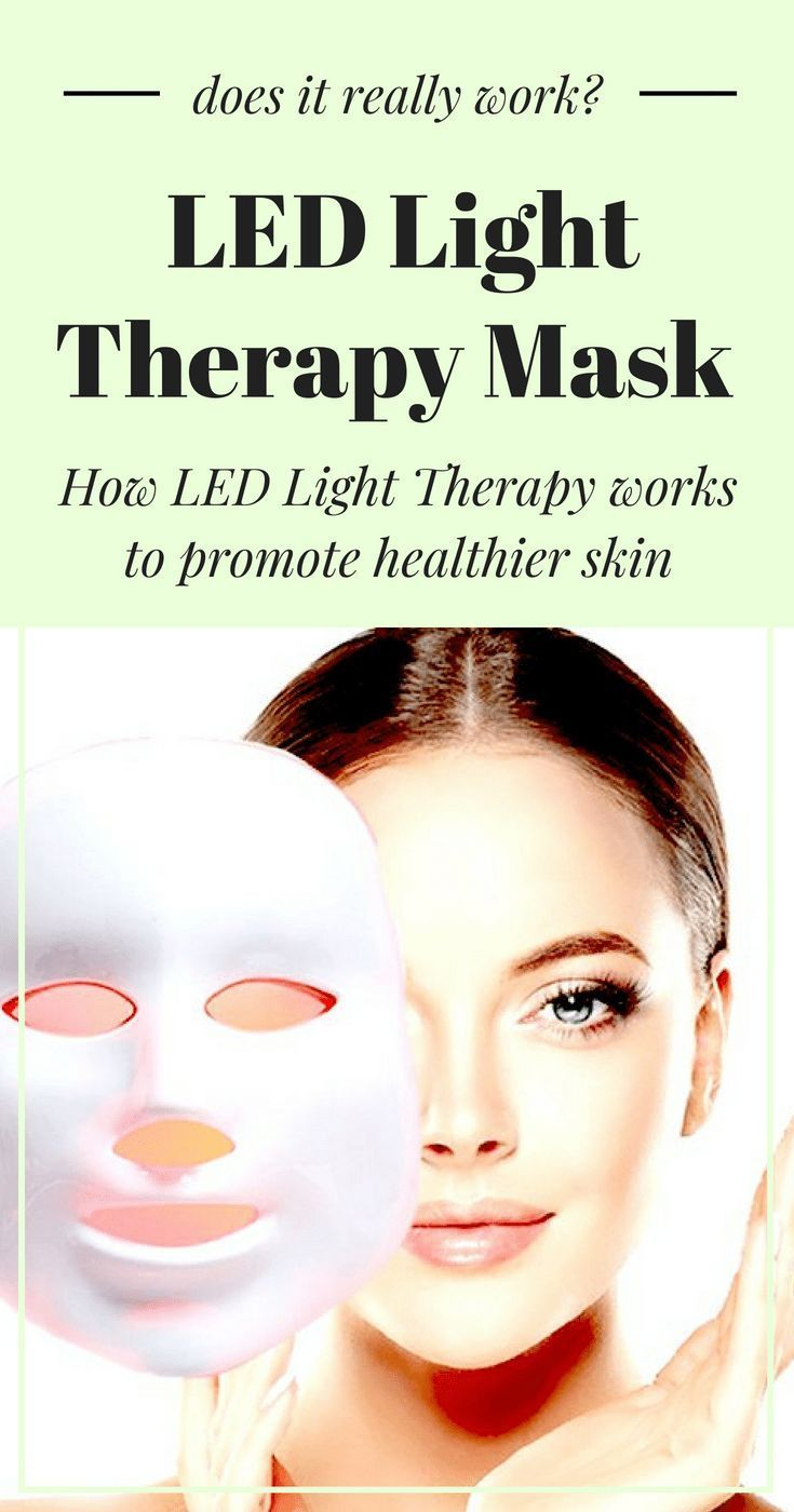 Review Do Led Light Therapy Masks Actually Work Skin Care Explain How Leds And Is Produced Through Them Really The Science Behind Explained Read It