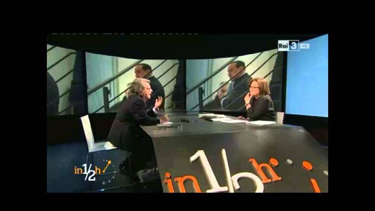 """Renato Brunetta a """"In mezz'ora"""" (Rai Tre) - Parte 1 - 26/01/2014"""