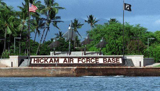 Military Life: Living on Hickam Air Force Base, Hawaii ...