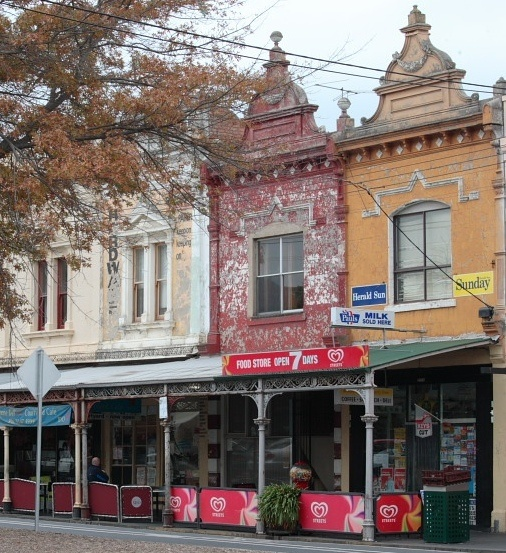 Rathdowne St Carlton Victoria Australia