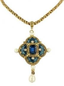 Reproduction of a pendant from the Tudor Period