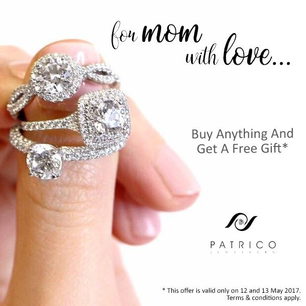 Making your Mother's Day special with Patrico Jewelry. #mothersday #withlove #Australia