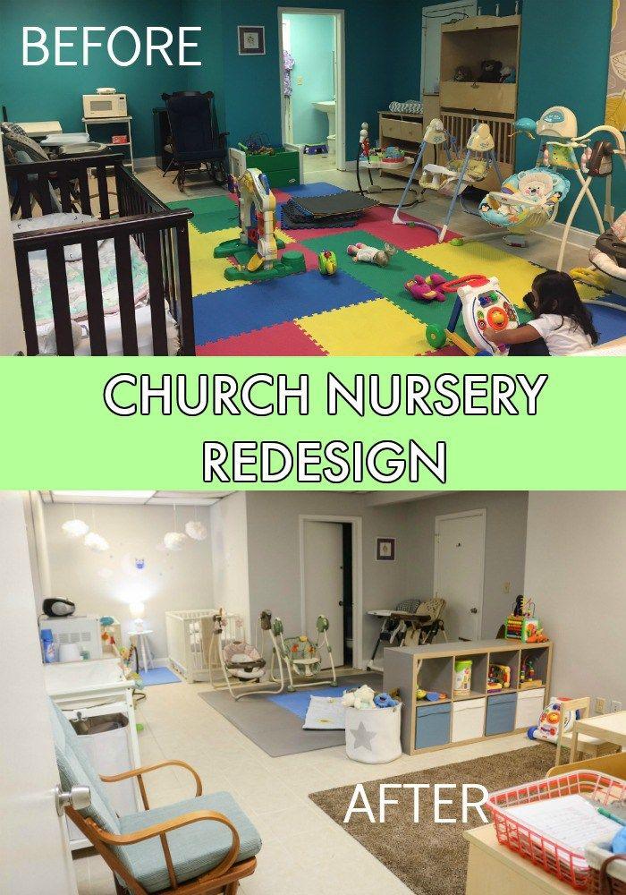 Church Nursery Redesign