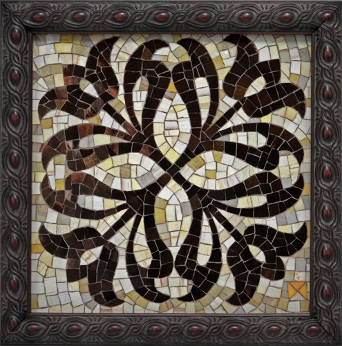 'Medallion'  Artist: Donna Van Hooser  ~  Beyond Borders: Mosaic Auction for DWB/MSF September 2012