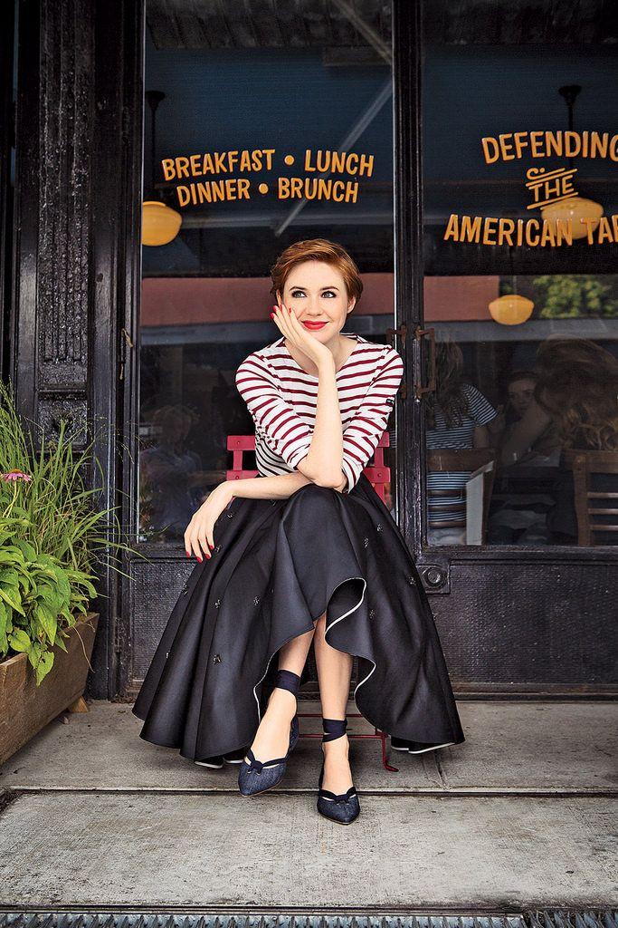 Карен Гиллан — Glamour 2014