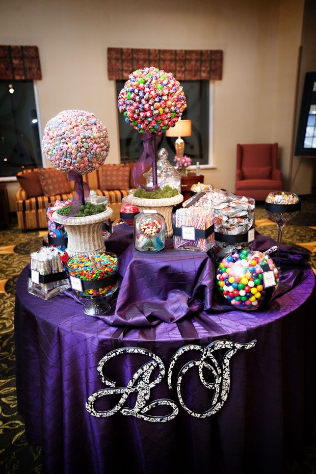 Cute candy buffet!
