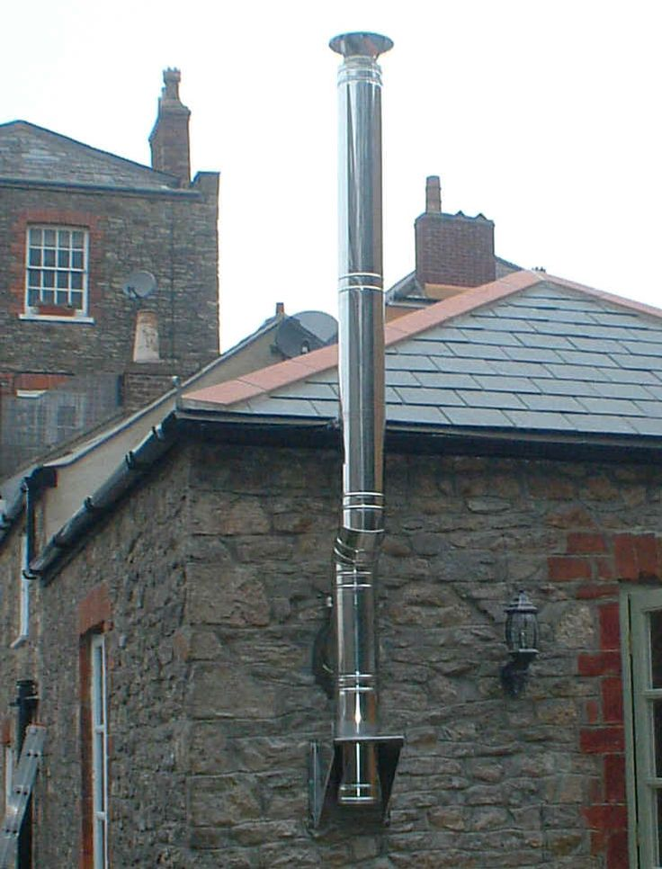 External stove pipe