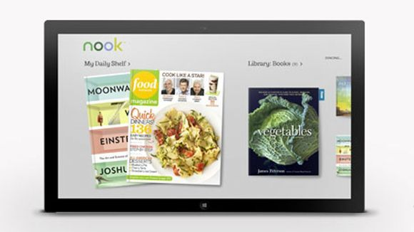 Barnes & Noble Nook app for Windows 8 hits store shelves | Microsoft invested $300 million in its Nook LLC partnership with Barnes & Noble, and now it has an e-reading app with spiffy live tiles. Buying advice from the leading technology site
