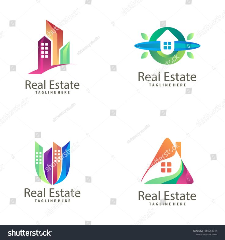 Real Estate Building Construction Logo And Icon Suitable For Your